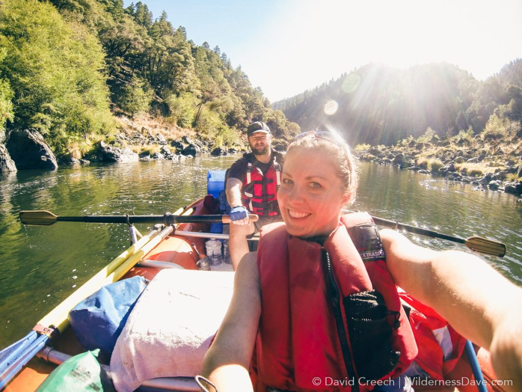 Merelyn on the Rogue River
