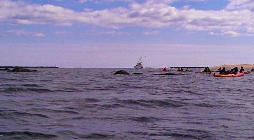 Kayaking Merrimack River