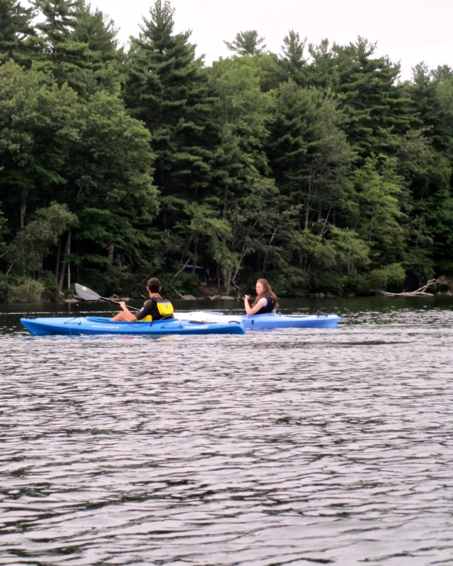 Kayaking Pawtuckaway Lake