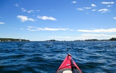 Kayaking Boothbay Harbor, Maine