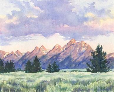 Teton Range, Grand Teton National Park, ©Heidi Skiba