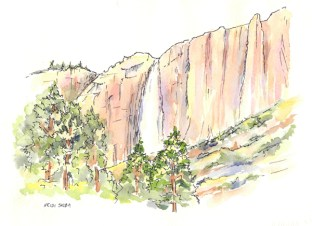 Yosemite Falls, Yosemite National Park, ©Heidi Skiba