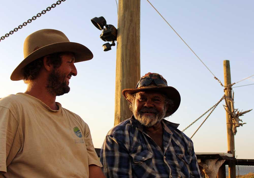 John Dale visit Wilderness Island