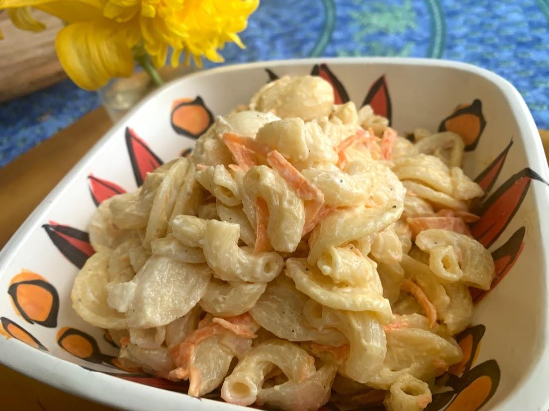 Food Truck Hawaiian Macaroni Salad Recipe