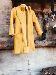 coat made of Merino wool