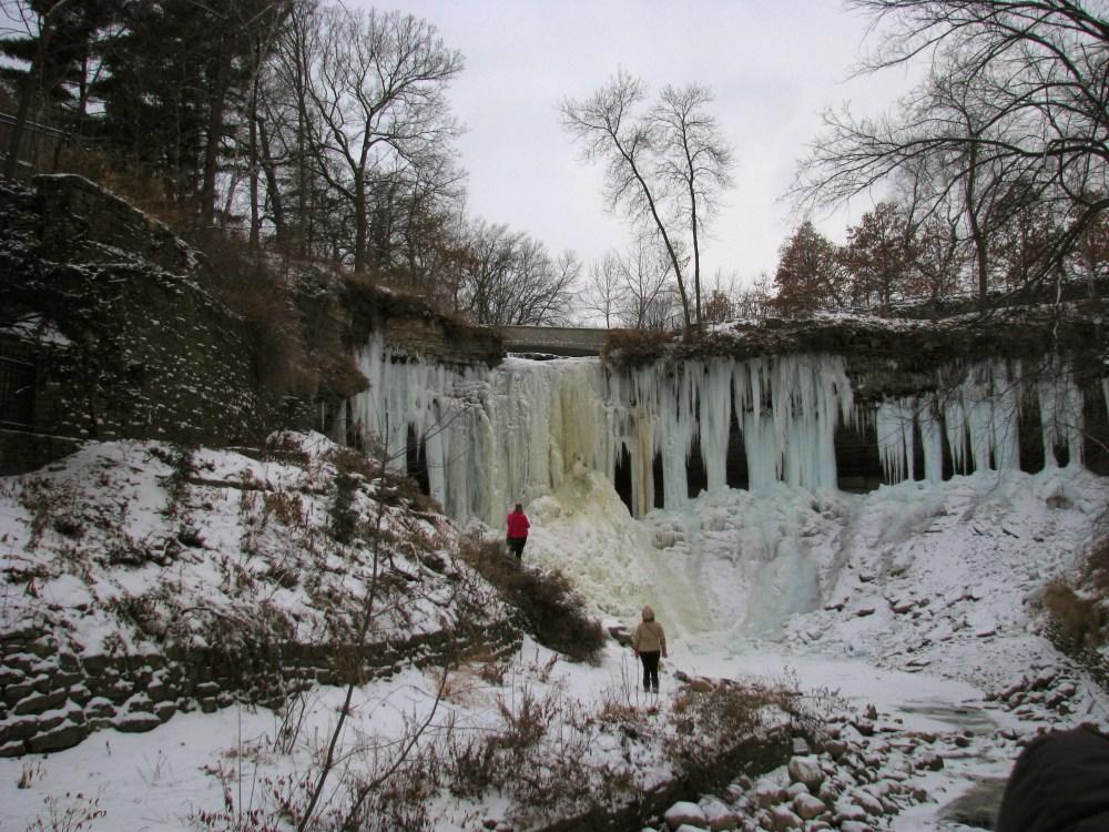 Minnehaha Falls In Winter (2/6)
