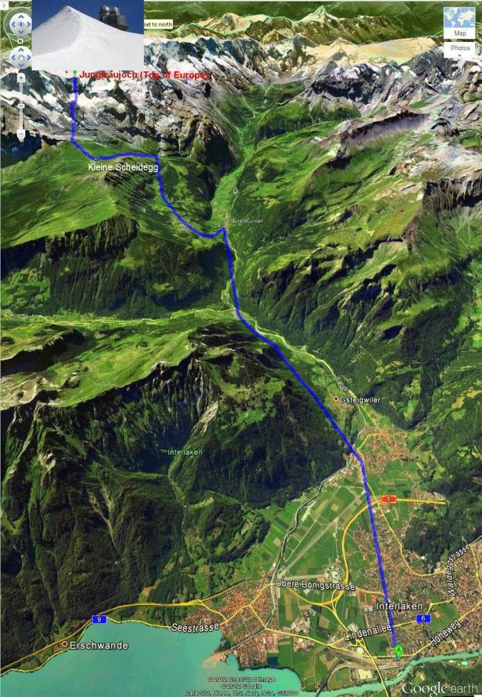Switzerland Trip - A Trip to Mt Jungfrau (1/6)