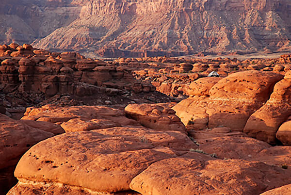 Backpacking Tent in Canyonlands