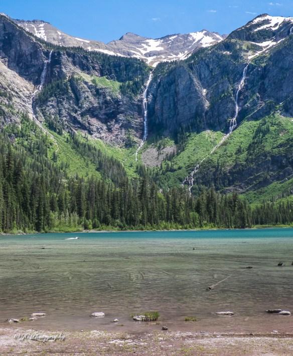Avalanche Lake waterfalls-9192
