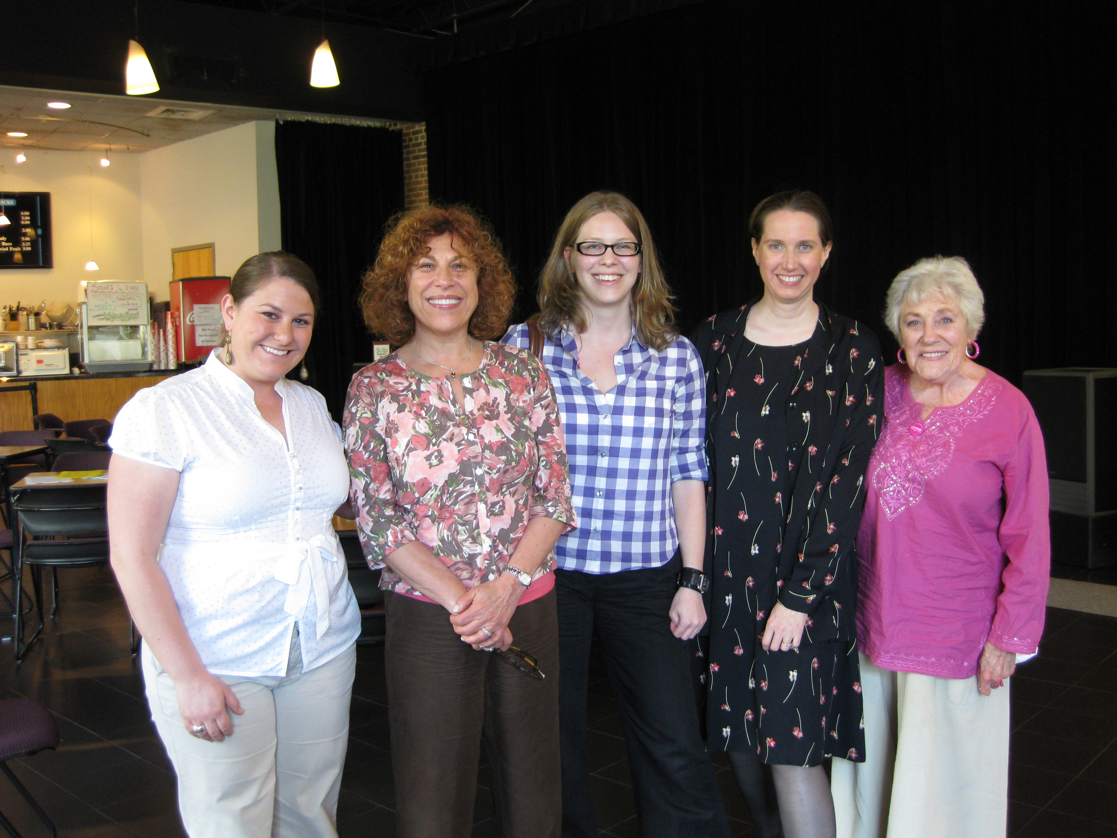 Andrea Callan, Hedda Marcus, Lina Olsson, Kimberly Wilder, Charlotte Koons