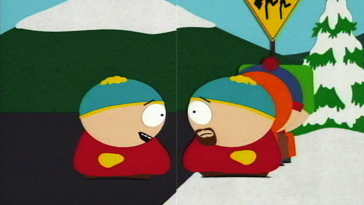 cartman beard