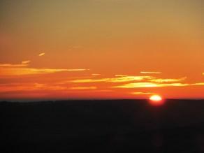 Endlich Sonnenaufgang!