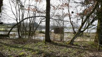 Verfallene Hütte am Ober-Mooser Teich