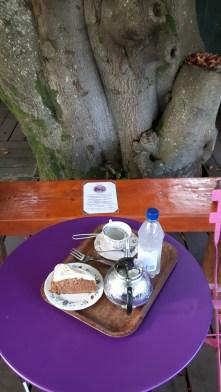 Karottenkuchen & Tee / Carrot cake & tea