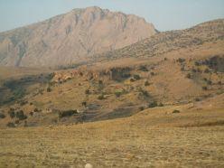 Berge in der Nähe von Darbandikhan