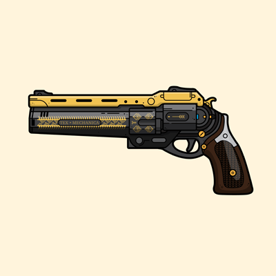Destiny The Last Word weapon gaming poster by WildeThang