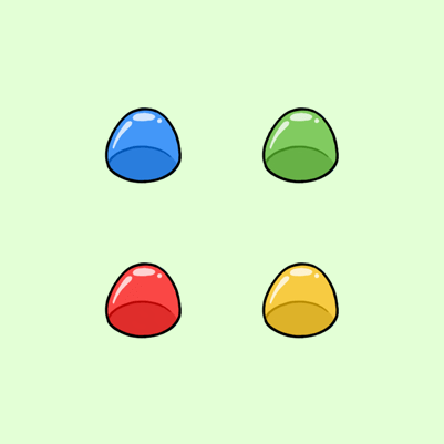aGingaBread's Sweet Candy Twitch Subscriber Badges