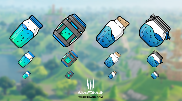 Fortnite Shield Consumables Twitch Emotes - £8.00