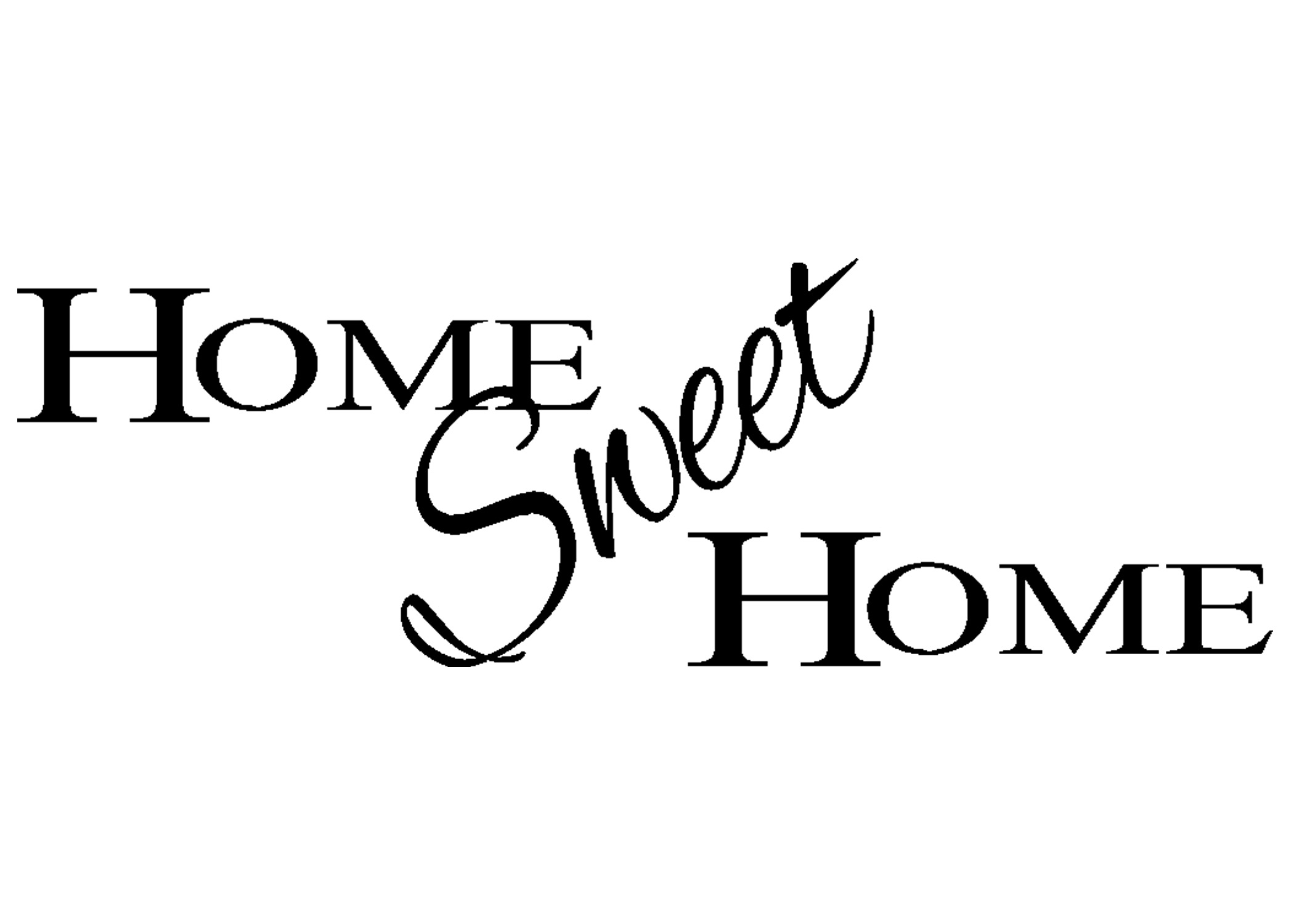 Women And Home Home Sweet Home Digital Clip Art Houses