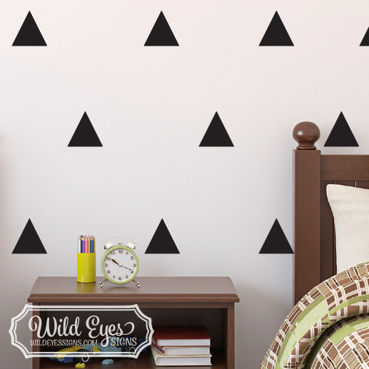 Triangles Vinyl Wall Decal