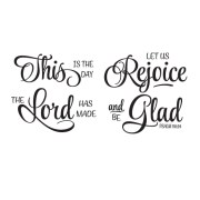 Psalm 118v24 Vinyl Wall Decal