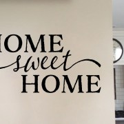 Home Sweet Home Version 1 Vinyl Wall Decal