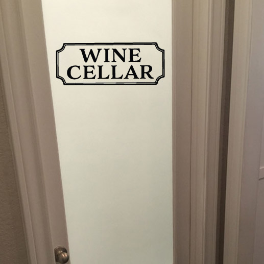 Wine Cellar Vinyl Wall Decal