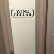 Wine Cellar Vinyl Wall Decal