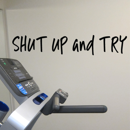 Shut Up and Try Vinyl Wall Decal