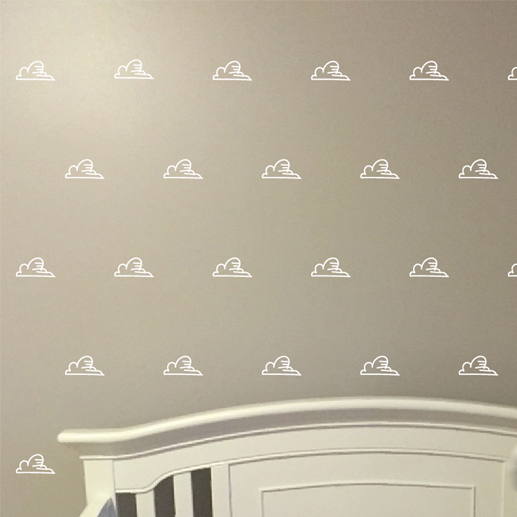 Clouds 2 Vinyl Wall Decals