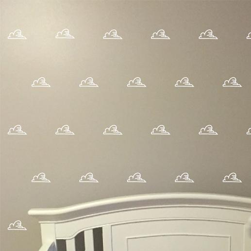 Clouds 2 Vinyl Wall Decals
