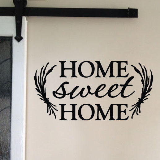 Home Sweet Home Vinyl Wall Decal 2