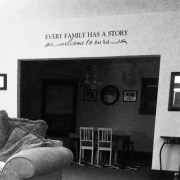 Every Family has a Story Welcome to ours Vinyl Wall Decal
