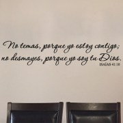 Isaiah 41:10 Vinyl Wall Decal 4