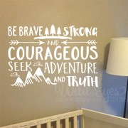 Joshua 1v9 Vinyl Wall Decal 13