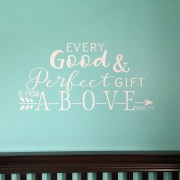 James 1:17 Vinyl Wall Decal 6