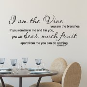 John 15v5 Vinyl Wall Decal 3