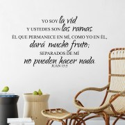 John 15v5 Vinyl Wall Decal 4