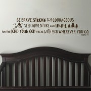 Joshua 1v9 Vinyl Wall Decal 26