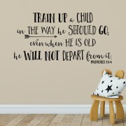 Proverbs 22v6 Vinyl Wall Decal 3