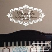 Psalm 139v14 Vinyl Wall Decal 8