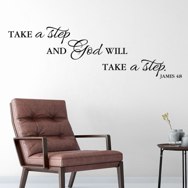James 4v8 Vinyl Wall Decal
