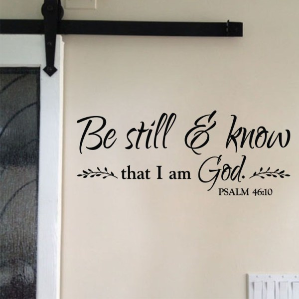 Psalm 46v10 Vinyl Wall Decal 6
