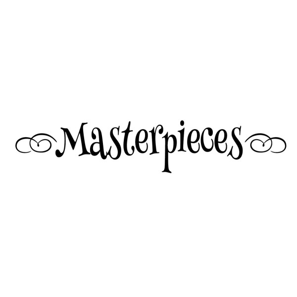 Masterpieces Vinyl Wall Decal