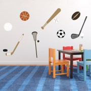 Pick Your Sports Vinyl Wall Decal