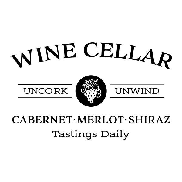 Wine Cellar Uncork Unwind Vinyl Wall Decal