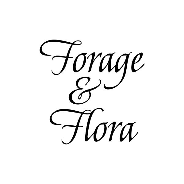 CUSTOM ORDER RCarter- Forge and Flora Vinyl Wall Decal