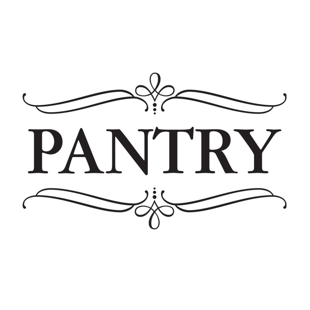 PANTRY Decal Vinyl Wall Decal 2