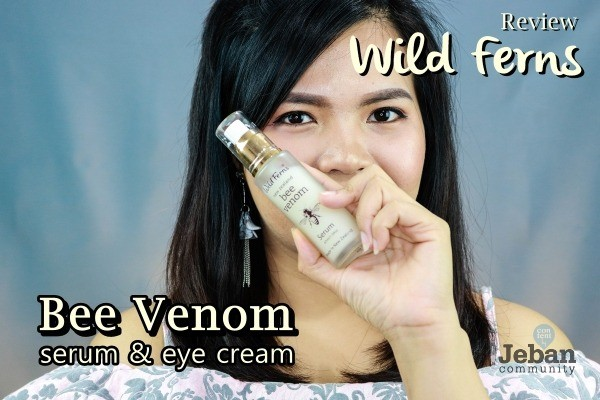 """Hello. so this product has been sitting in my house for a while now, so let me write a review for it. Today I'm going to talk about a natural beauty secret of bee venom, with a line of skincare with bee venom as the main ingredient, which is """"Wild Ferns New Zealand Bee Venom Serum"""" and """"Wild Ferns New Zealand Bee Venom Eye cream """"."""