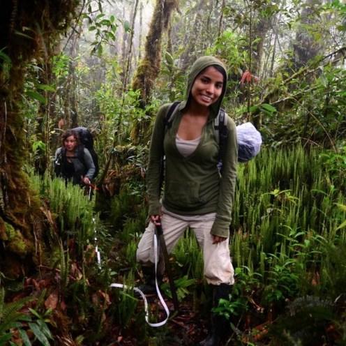 Tania Romero Bautista in the Amazon
